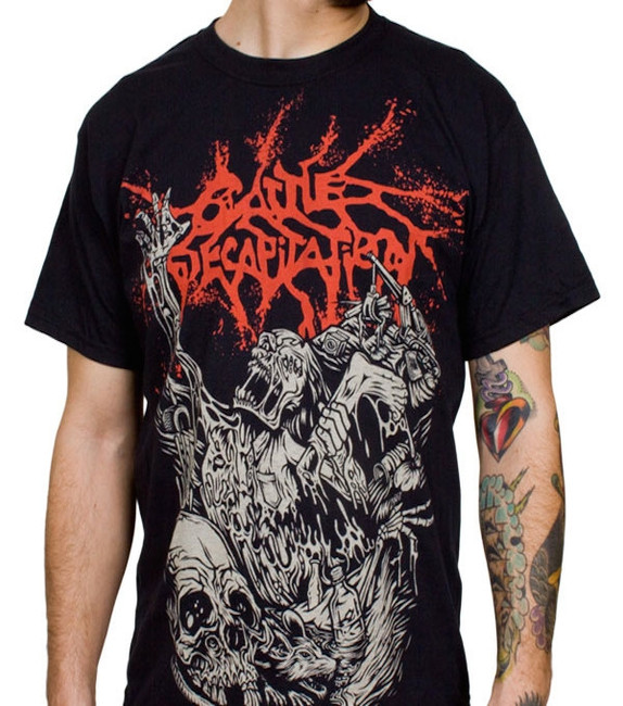 Cattle Decapitation Alone at the Landfill T-Shirt