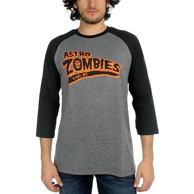 Misfits Astro Zombies Baseball Raglan T-Shirt Danzig