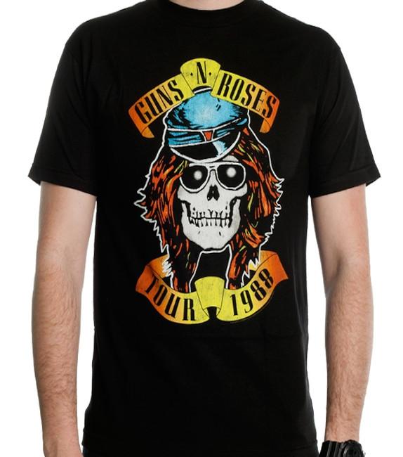 Guns N Roses - Appetite For Destruction 1988 Tour T-Shirt