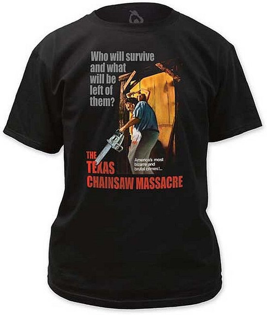 Texas Chainsaw Massacre Bizarre and Brutal Crimes T-Shirt