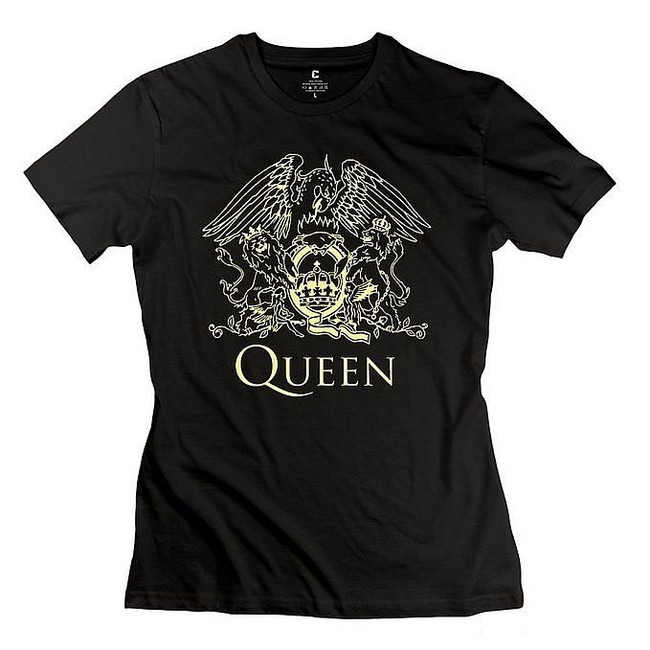 Queen Gold Logo Junior Women's T-Shirt