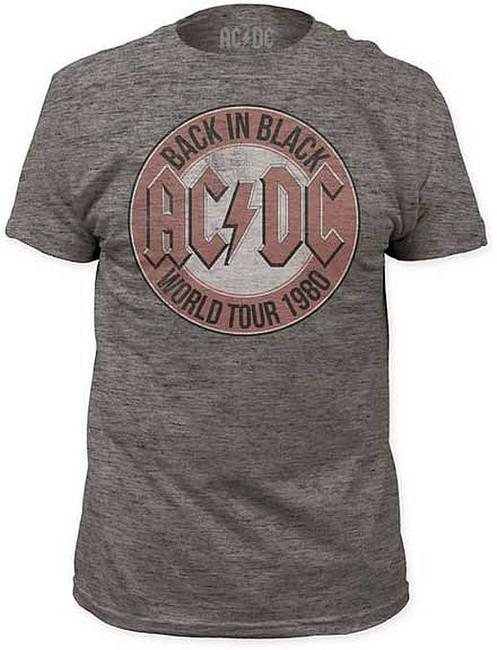 AC/DC World Tour 1980 Tri-Blend T-Shirt