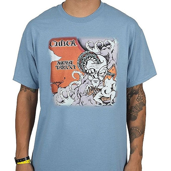 Clutch Blast Tyrant Men's Blue T-Shirt