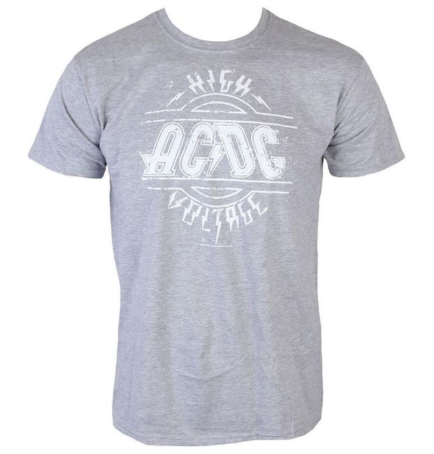 AC/DC High Voltage Men's Grey T-Shirt