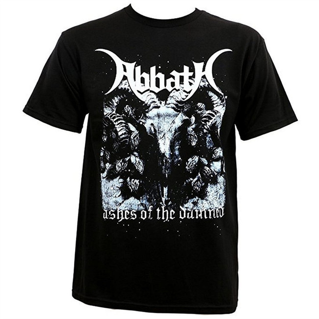 Abbath Immortal Ashes of the Damned Men's T-Shirt Black