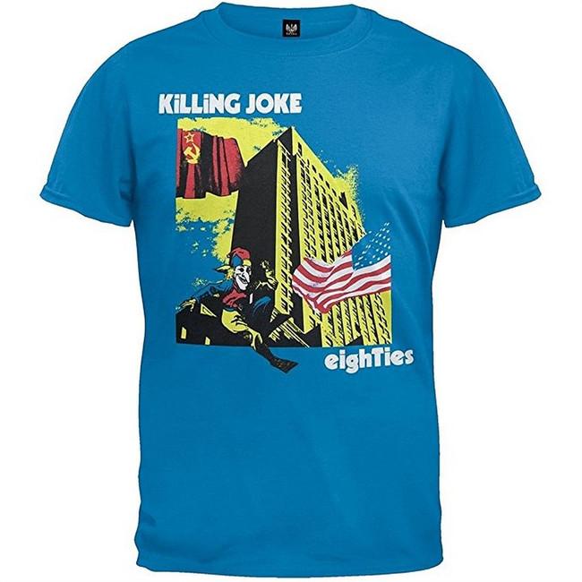 Killing Joke Eighties Men's Blue T-Shirt