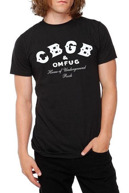 CBGB Classic Logo Black T-Shirt