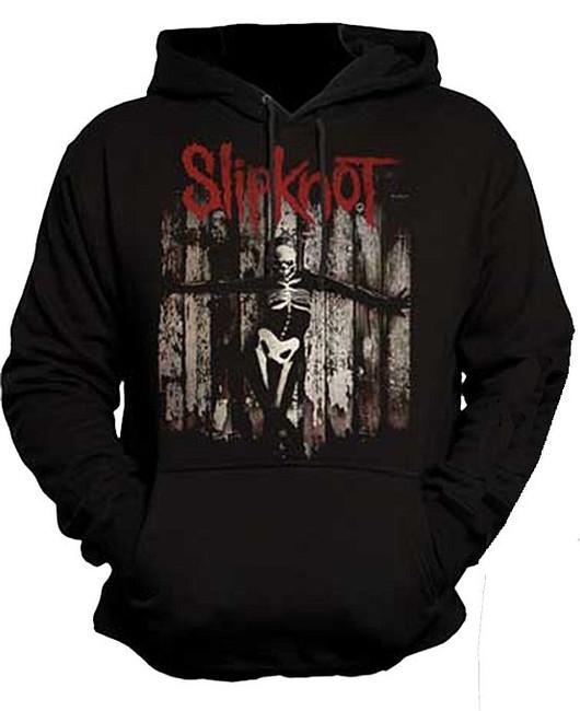 Slipknot Gray Chapter Skeleton Pullover Hoodie Sweatshirt