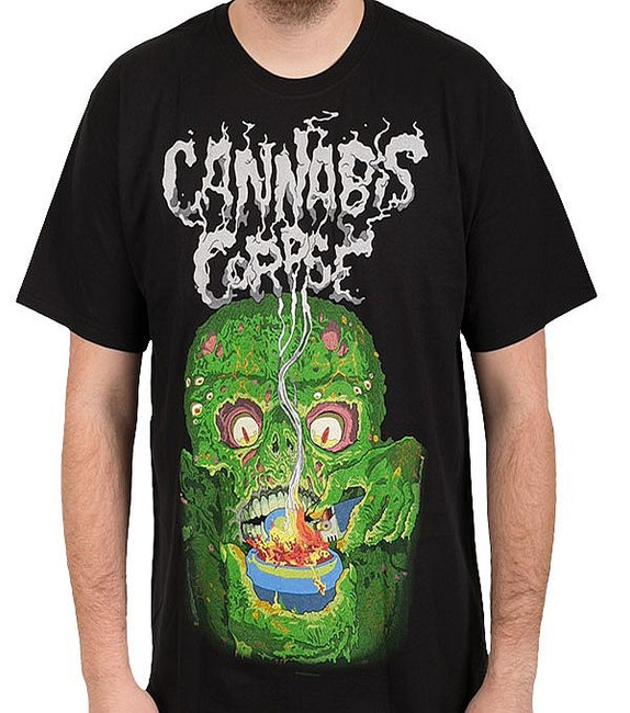 Cannabis Corpse Bowl of Fire T-Shirt