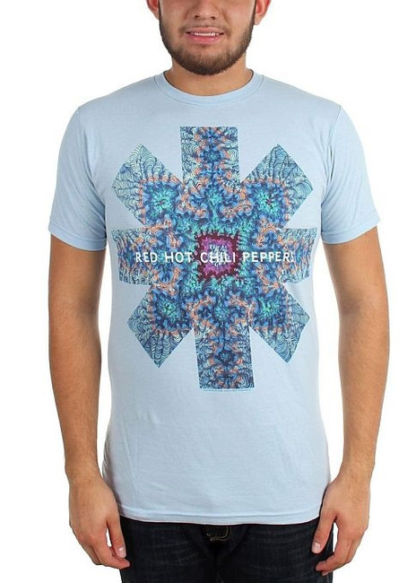 Red Hot Chili Peppers Kaleidoscope Asterisk T-Shirt
