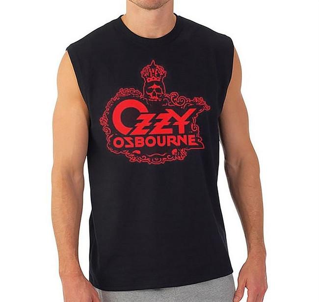 Ozzy Osbourne Skull Logo Muscle Tank Top T-Shirt