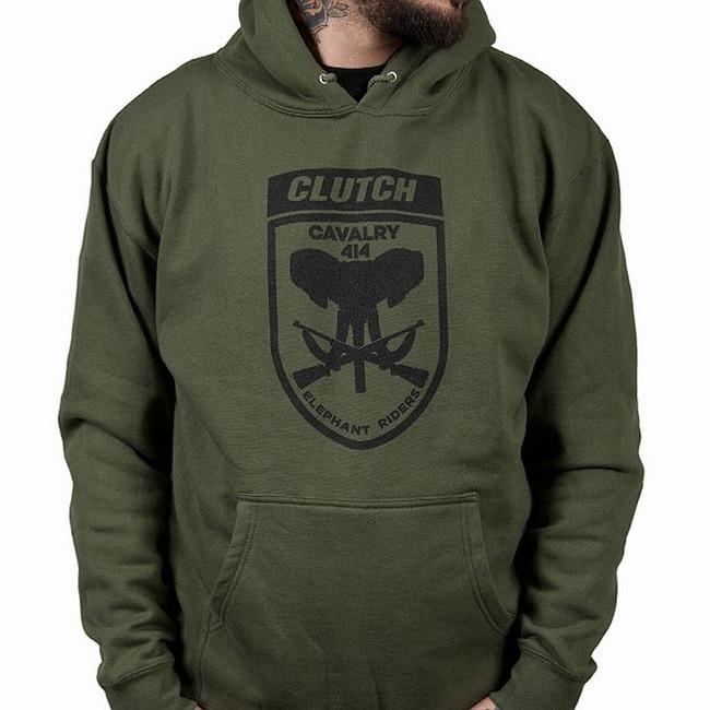 Clutch - Cavalry Pullover Hoodie Sweatshirt