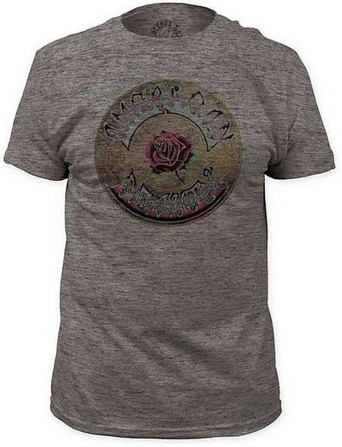 Grateful Dead American Beauty Tri-Blend Fitted T-Shirt