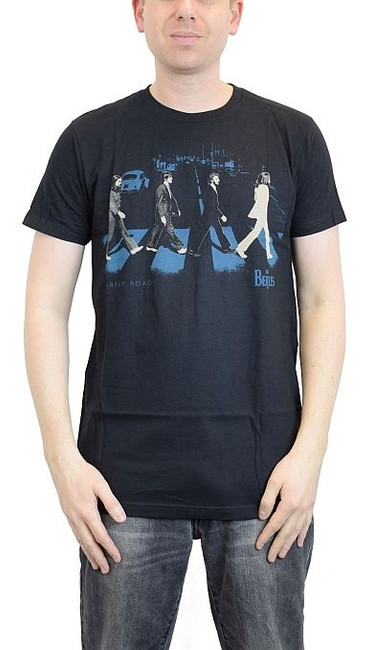 The Beatles Abbey Stride T-Shirt