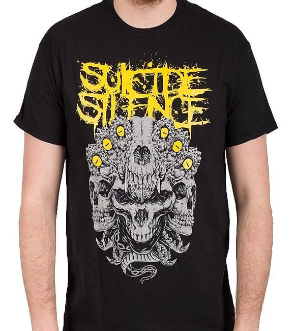 Suicide Silence Skull Kingdom Lightweight T-Shirt