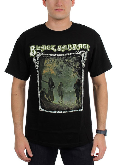 Black Sabbath Photo Framed T-Shirt