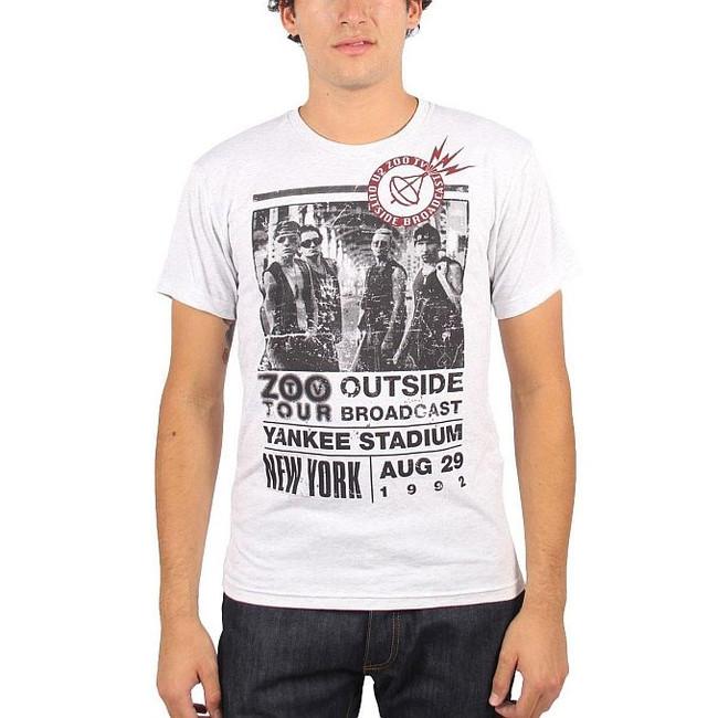 U2 Zoo 1992 Outside Tour Slim Fit T-Shirt