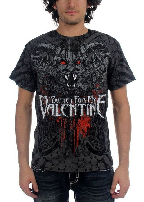 Bullet For My Valentine - Demon All Over T-Shirt