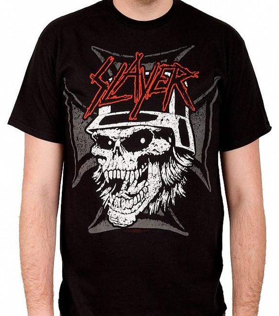 Slayer Graphic Skull T-Shirt