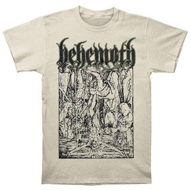 Behemoth Lvcifer Tan T-Shirt
