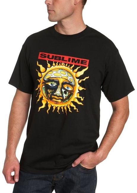 Sublime Sun Black 40 Oz Shirt