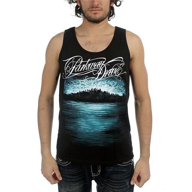 Parkway Drive Deep Blue Skyline Tank Top T-Shirt