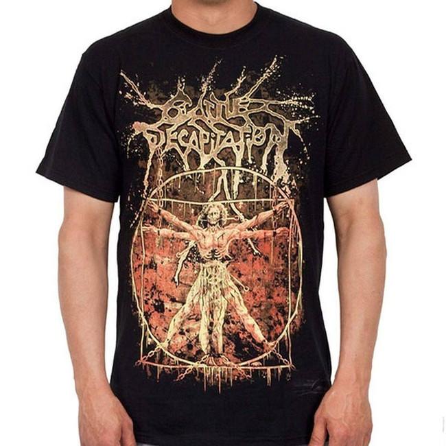 Cattle Decapitation Vitruvian Men's Black T-Shirt