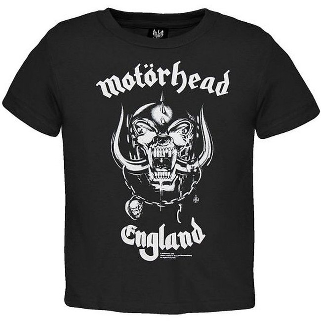 Motorhead England Toddler T-Shirt
