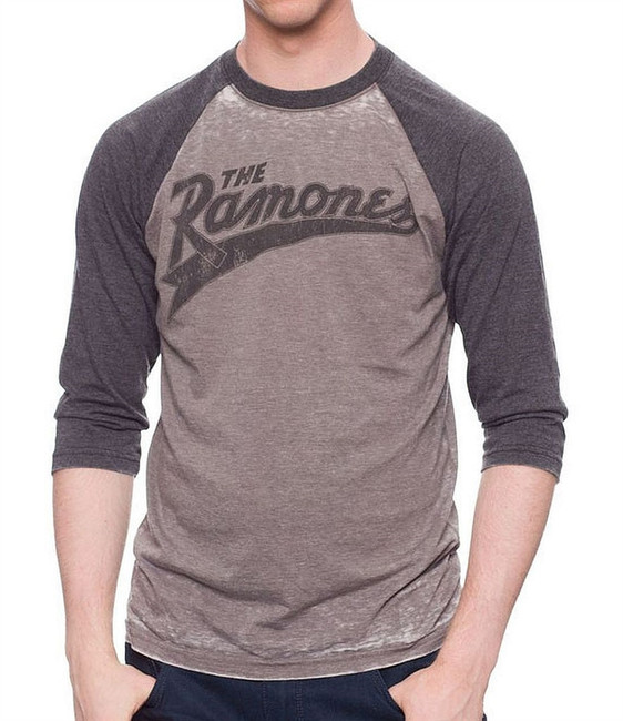 Ramones Baseball Logo Raglan T-Shirt