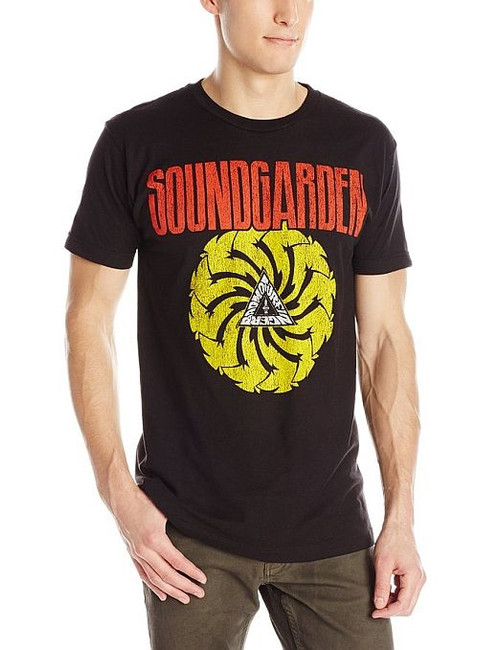 Soundgarden Badmotorfinger Black Lightweight T-Shirt