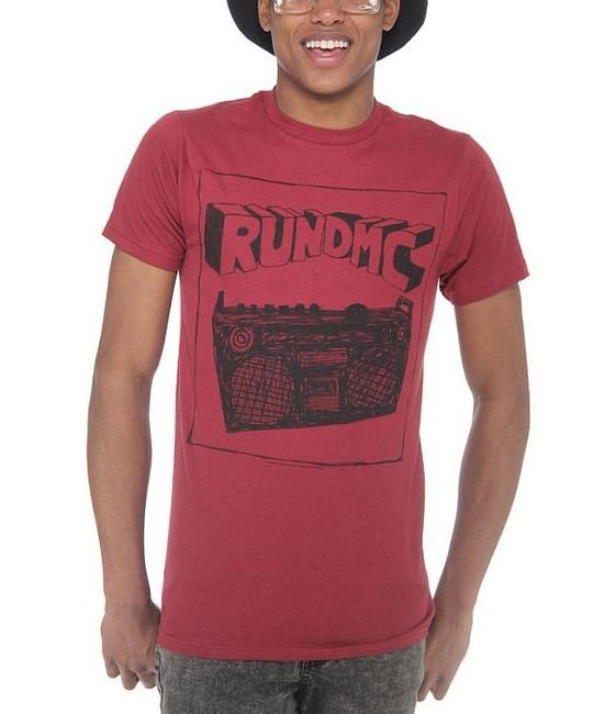 Run DMC Sketch Boombox T-Shirt