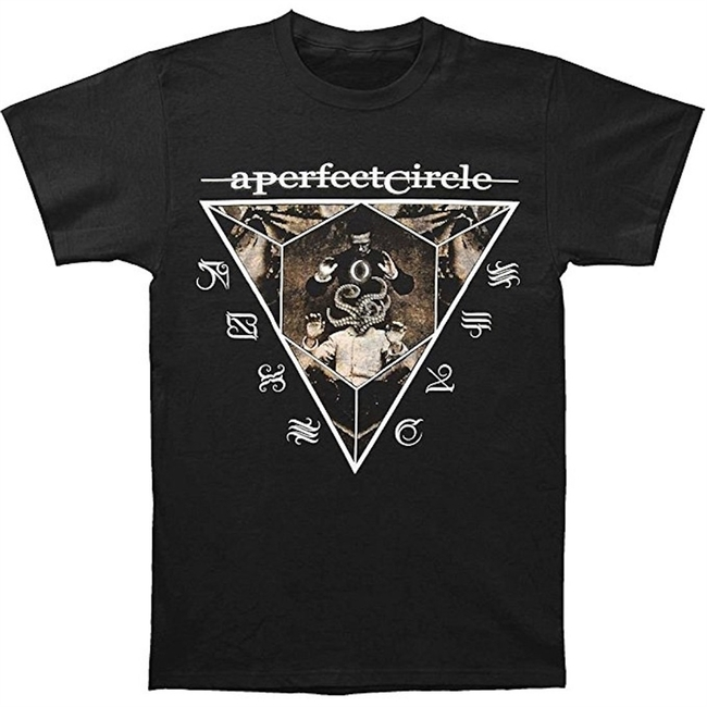 A Perfect Circle Outsider 30/1 Men's Black T-Shirt