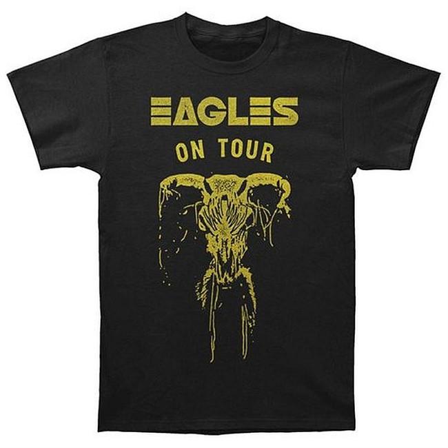 Eagles On Tour Skull T-Shirt