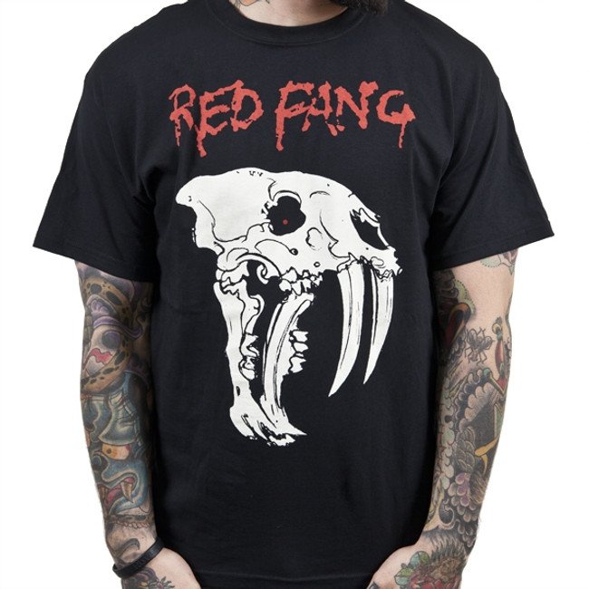 Red Fang Fang Skull T-Shirt