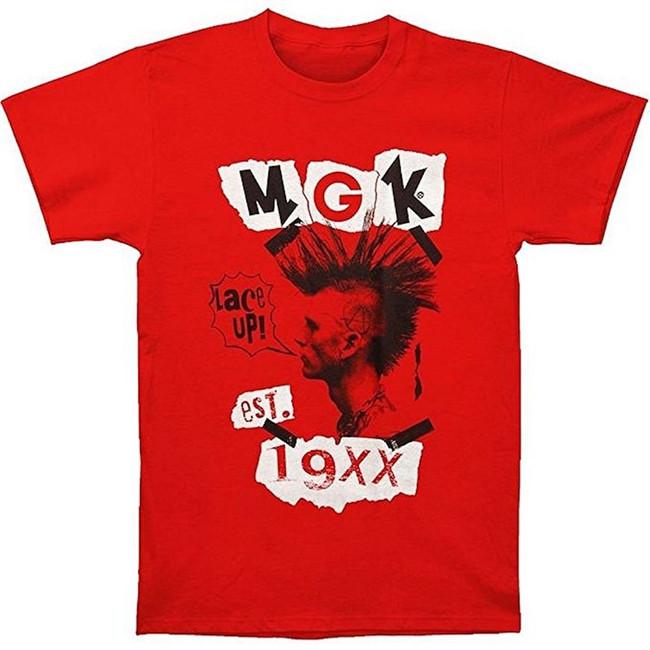 Machine Gun Kelly MGK Head Zine T-Shirt