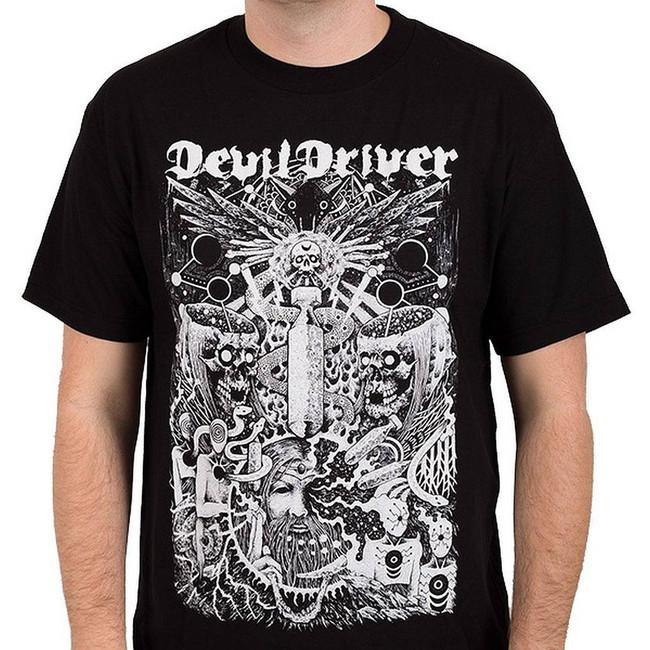 Devildriver Delusional Haze Men's Black T-Shirt