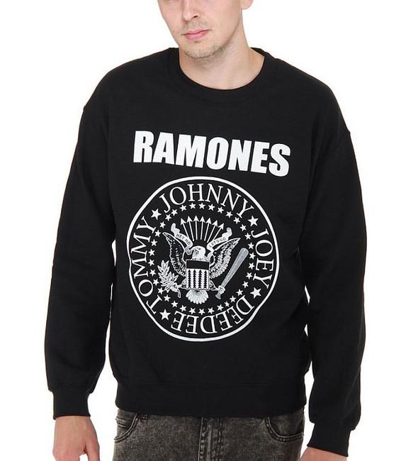 Ramones Classic Seal Crewneck Sweatshirt