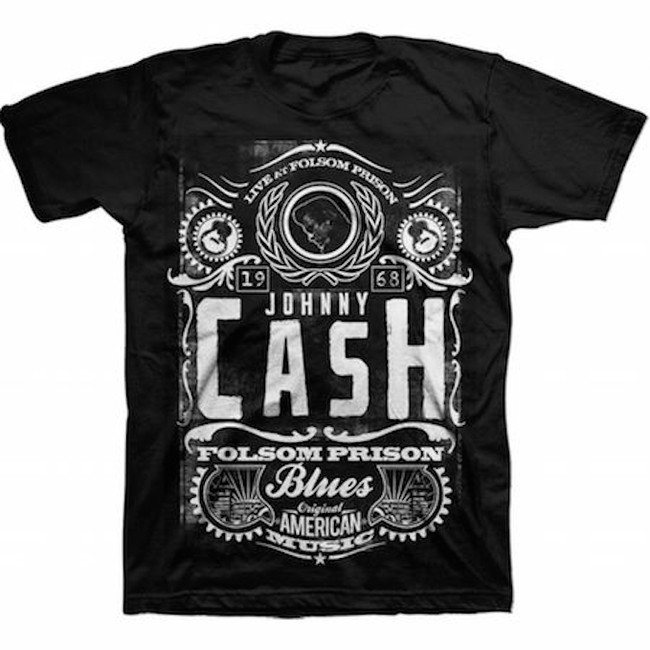 Johnny Cash Blues T-Shirt