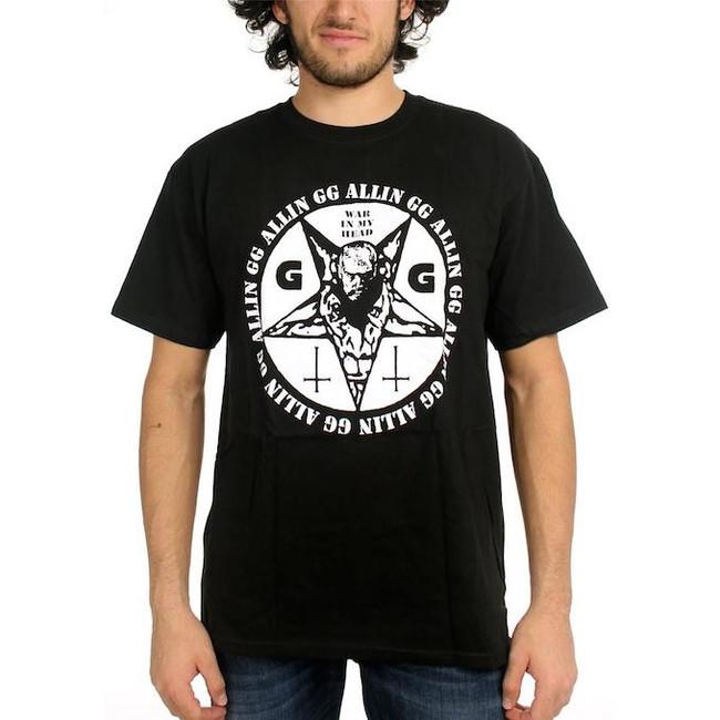 GG Allin War In My Head T-Shirt