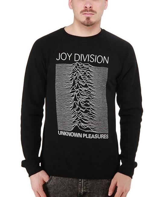Joy Division Unknown Pleasures Crew Neck Sweatshirt