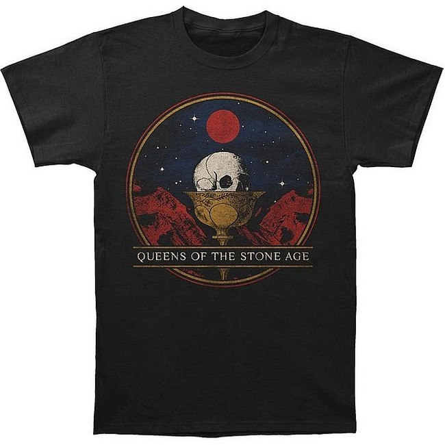 Queens of the Stone Age Chalice Slim Fit T-Shirt