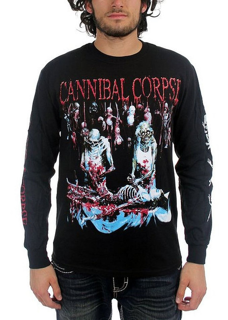 Cannibal Corpse - Butchered at Birth Long Sleeve T-Shirt