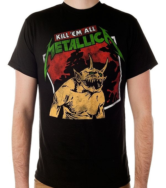 Metallica Kill Em All Tilted Frame T-Shirt