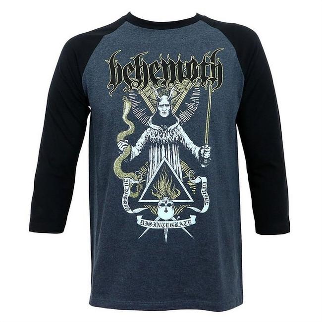 Behemoth Disintegrate Men's Raglan Grey T-Shirt
