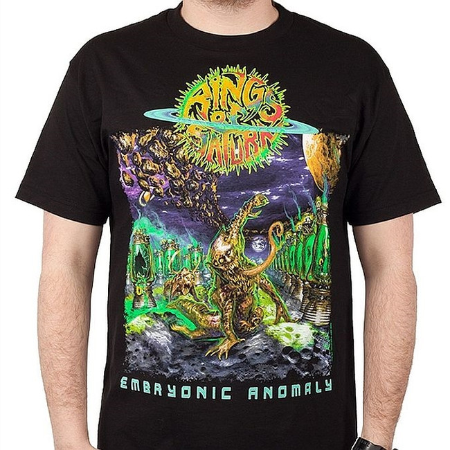 Rings of Saturn Embryonic Anomaly T-Shirt