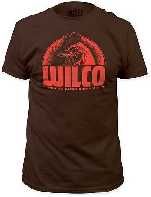 Wilco Rising Early Since 94 Fitted T-Shirt
