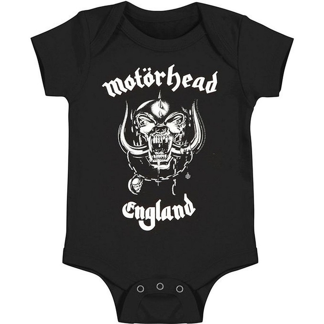 Motorhead England Baby Romper T-Shirt