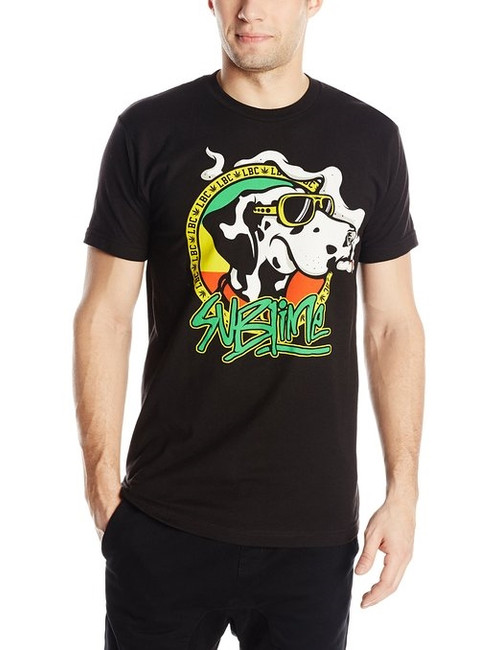 Sublime Cartoon Dog With Joint Light T-Shirt