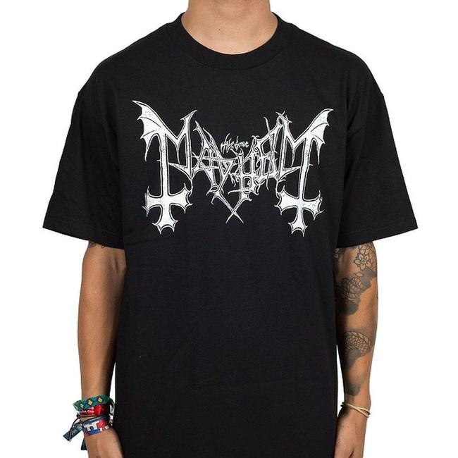 Mayhem Logo Men's Black T-Shirt