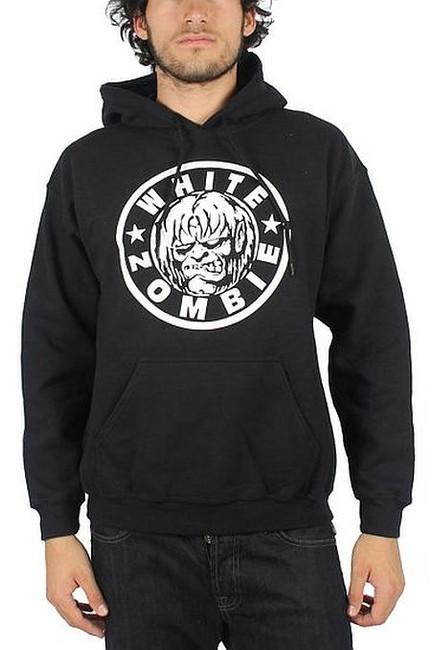 White Zombie Classic Logo Pullover Hoodie Sweatshirt